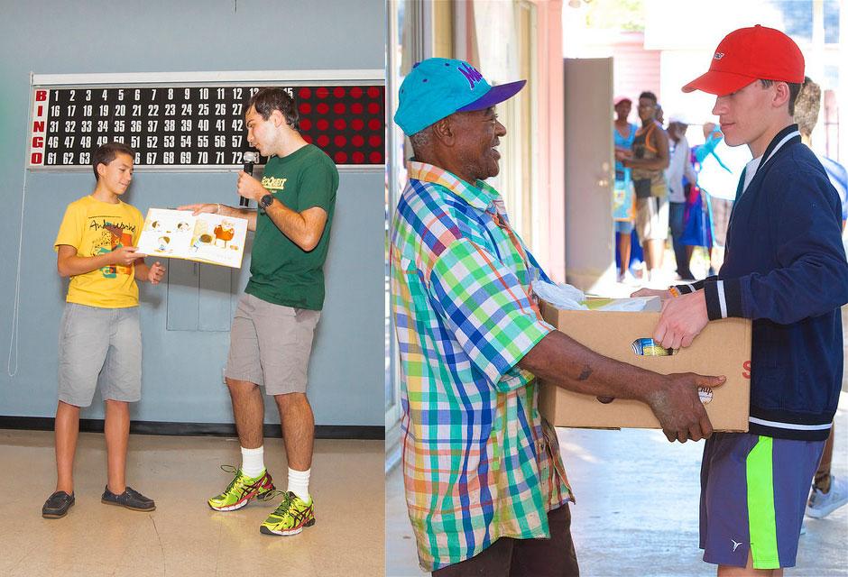 Adrian & Justin Pedron's Talent Show at Miami Jewish Health Systems