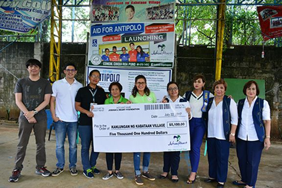 Jordan Wong of Joshua's Heart Foundation, Raises $5K in His Remarkable Aid for Antipolo Campaign
